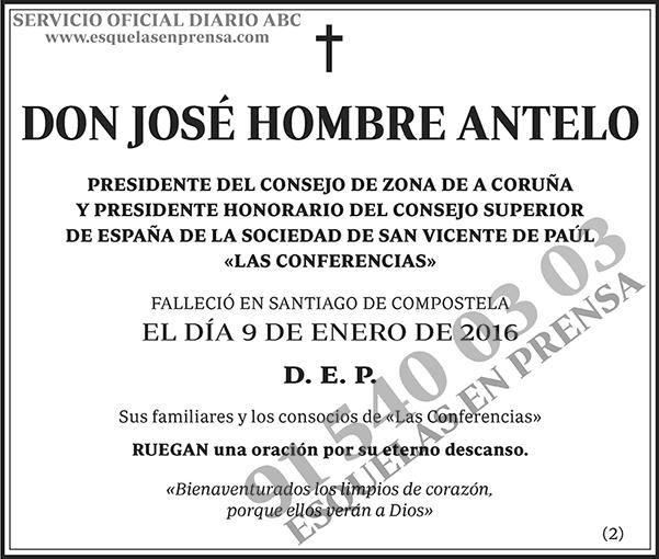 José Hombre Antelo